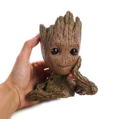 Guardians of The Galaxy Vol. 2 Baby Groot Flowerpot Figure Brush Pot Toy  gift