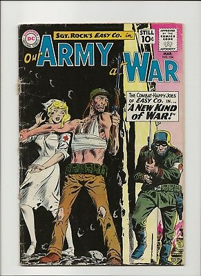 Our Army at War 104 Good 2.0 Sgt Rock & Easy Co 1961