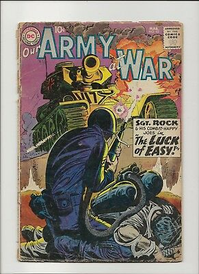 Our Army at War 92 F/G 1.5 Sgt Rock & Easy Co 1959