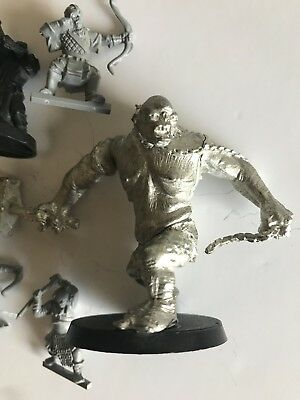 lord of the rings warhammer Minatures Cave Troll Vintage
