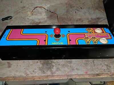 Untested MS. Pac Man Control Panel As you SEE IN PHOTOS