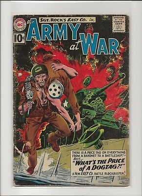 Our Army at War 111 G+ 2.5 Sgt Rock & Easy Co 1961