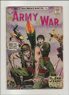 Our Army at War 101 G+ 2.5 Sgt Rock & Easy Co 1960