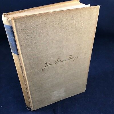 Up And Out - John Cowper Powys, Macdonald, 1957(1st Edition)
