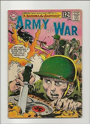 Our Army at War 119 G/VG 3.0 Sgt Rock & Easy Co 1962