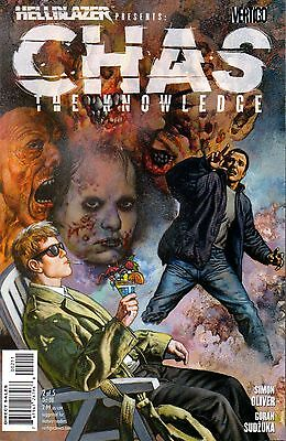 Hellblazer Presents: Chas The Knowledge Comic 2 DC Vertigo 2008 Oliver Sudzuka