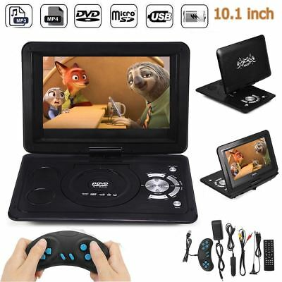 13.9 Tragbarer DVD Player 270° Drehbar LCD USB/SD Auto Fernbedienung Gamepad