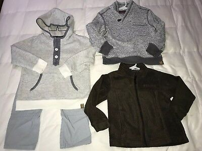 NICE Boys 4T Fall Winter Clothes, Jacket, Pullover, Outfit, oshkosh, Columbia