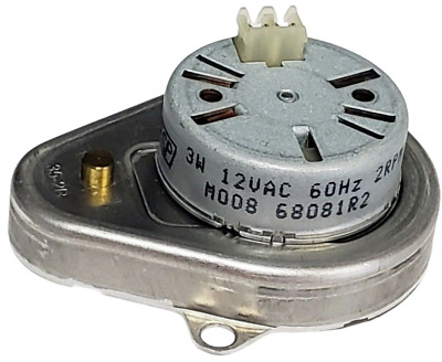 Mallory Gearbox Motor 3W 12VAC 60Hz 2RPM - M008 - Quantity Available