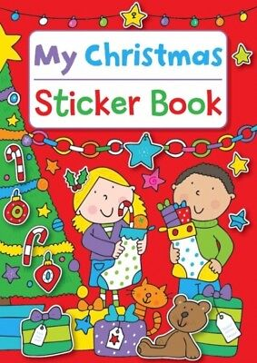 My Christmas Sticker Book Kids Activity Colouring Book