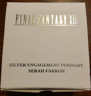 Final Fantasy XIII Silver Engagement Pendant - Serah