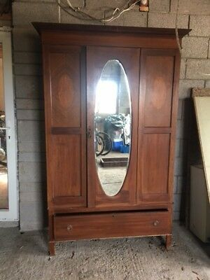 Original  Victorian  Double   Wardrobe