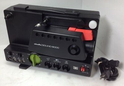 Minolta Super 8 Sound 6000 Film Projector USED-LIMITED TESTING