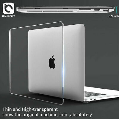 """2018 Clear Crystal Full Body Hard Shell Case for Macbook Pro 13"""" 15"""" A1989/A1990"""
