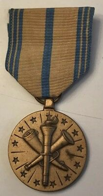 Original WWII US Army Navy Marine USMC USA Armed Forces Reserve Medal Ribbon