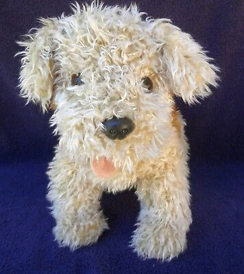 "TOFFEE WIRE FOX TERRIER 1992 Ty 16"" Long Pink tongue"