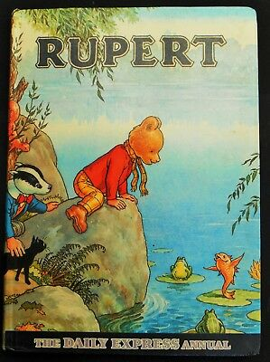 Vintage Original 1969 Rupert Bear Annual, Unscribed/price Unclipped 7/6