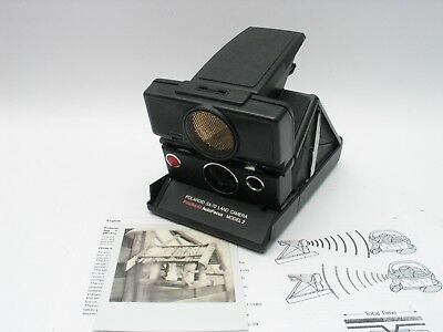 Polaroid SX-70 instant camera for Impossible SX70 Film Sofortbild Kamera TESTED