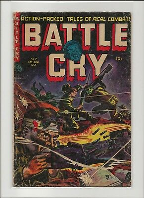 Battle Cry 7 G/VG 3.0 Stanmore Publications 1953 War