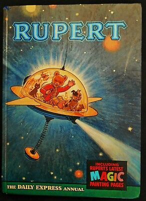 1966 Rupert Bear Annual, Magic Paintings Hardly Touched, Unscribed,unclipped 6/-
