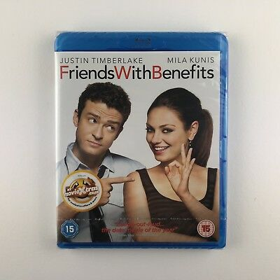 Friends With Benefits (Blu-ray, 2012) *New & Sealed*