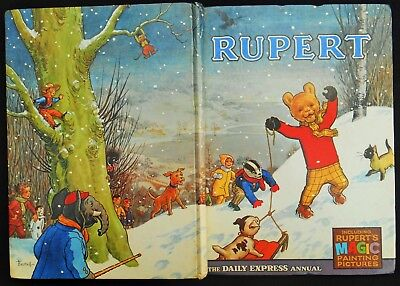 1967 Rupert Bear Annual, Magic Paintings Almost Untouched, Unscribed,unclipped