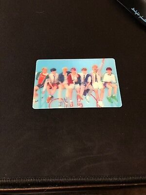 Rare BTS Love Yourself Answer Lenticular Photocard Group
