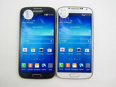 Lot of 2 Samsung Galaxy S4 R970C Cricket Check IMEI Good Condition 3-1723