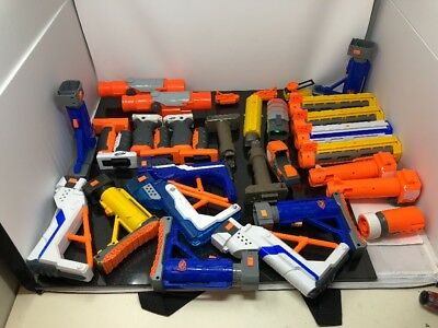 Lot of (30) Nerf Gun Accessories and Attachments All In Great Working Condition