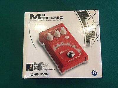 TC Helicon Mic Mechanic Vocal Effect Pedal