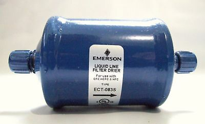 "Emerson ProParts Liquid Line Filter Drier ECT-083S PPDRI083S 3/8"" Inlet/Outlet"