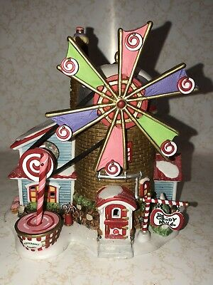 Dept 56 North Pole Series Retired THE CHRISTMAS CANDY MILL #56762