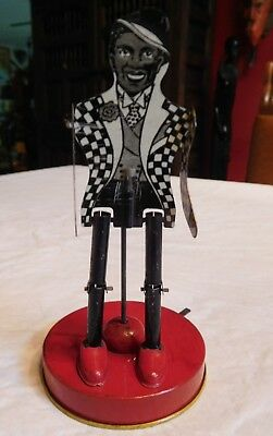"Vintage 1920's Tin Toy Jigger Dancer In Tuxedo..""made In Usa"""