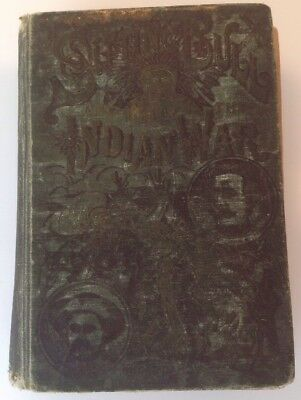 Sitting Bull and the Indian War Antique Book IN GERMAN