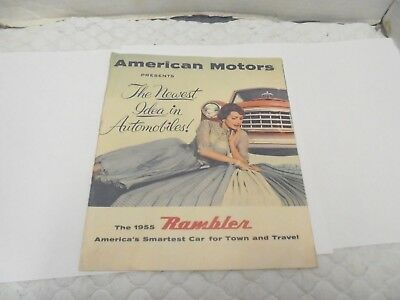 automobile dealership brochure the 1955 rambler american motors