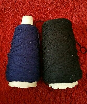 2 part cones of Denys Brunton de-lux yarn. please see description and photos