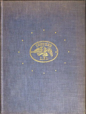 Footprints of Assurance by Bulau 1953 Hardcover 319 Pages Fire Insurance Plaque