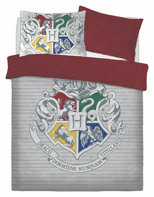 Harry Potter Witchcraft Disney Style Duvet Cover Sets Reversible Bedding DS(481)