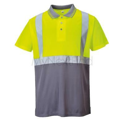 Portwest Hi-Vis Two-Tone Polo Shirt (S479)
