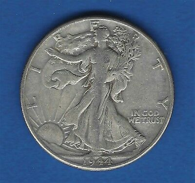1944-P Walking Liberty Half Dollar Vf-Xf