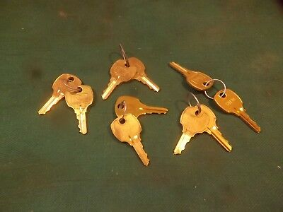 Compx National Usa Precut Code C413A Key Alike Keys New In Old Stock