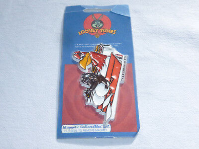 Foghorn Leghorn And Henry Hawk Collectible Magnet Looney Tunes 1997 Sealed New
