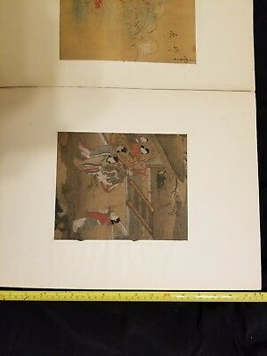 Chinese Lot Of Silk Screen Paintings