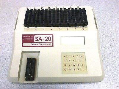 Needham's Electronics SA-20 Device Programmer in Great Condition