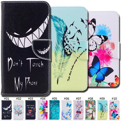 For Huawei Honor Phones Wallet Flip Stand Holder Card Slot PU Leather Case Cover