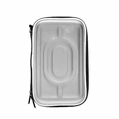 """2.5"""" Hard Drive Carrying Case Zipper Pouch Waterproof Bag HDD Protection Silver"""
