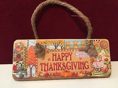 Mary Engelbreit small Thanksgiving plaque