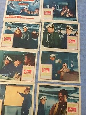 THE BEDFORD INCIDENT complete lobbycard set