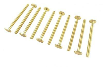 "Lot of 10 each Sliding Tee Bolts with 1/4 20 Threads 3 1/2"" Long for Jigs..."