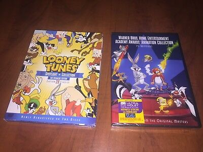 Looney Tunes Warner Bros DVD set ANIMATION COLLECTION New Sealed Spotlight used
